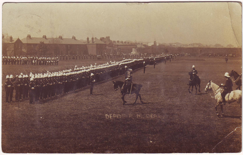 photoblog image Parade Ground- Deal, 1911